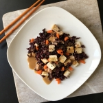 Tofu & Black Rice