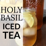 Holy Basil Iced Tea