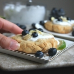 Deconstructed Blueberry Lime Biscuits