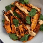 Chili Spice Sweet Potato Fries